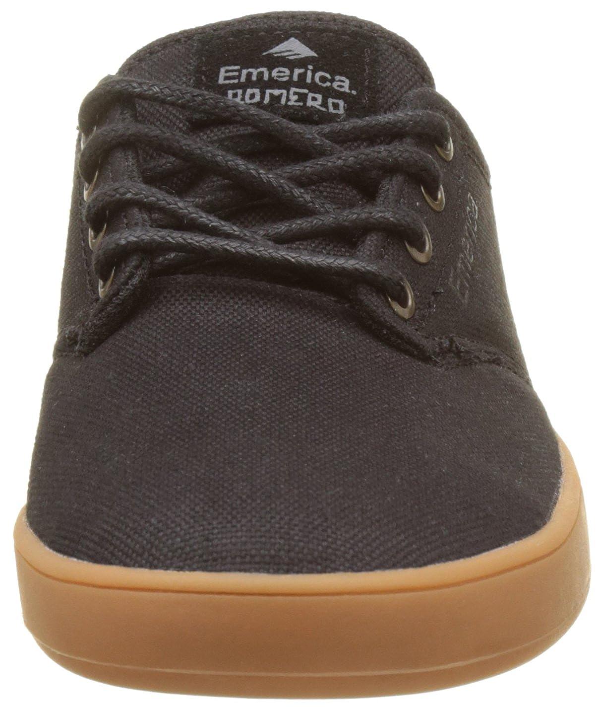 Emerica Herren The Romero Laced schwarz grau grau grau Gum Skateboardschuhe Schwarz 13ce51