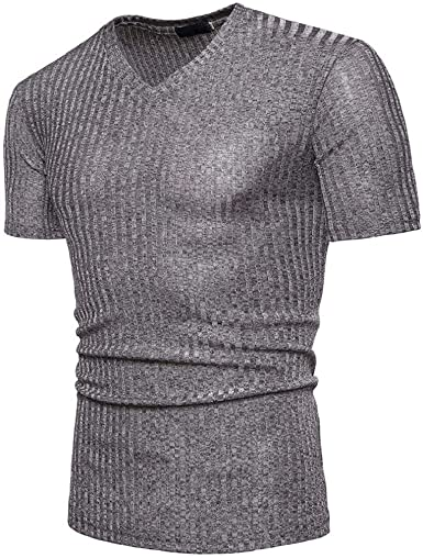 Camisetas Hombre Manga Corta, SHOBDW Blusa De Moda Camisa De ...