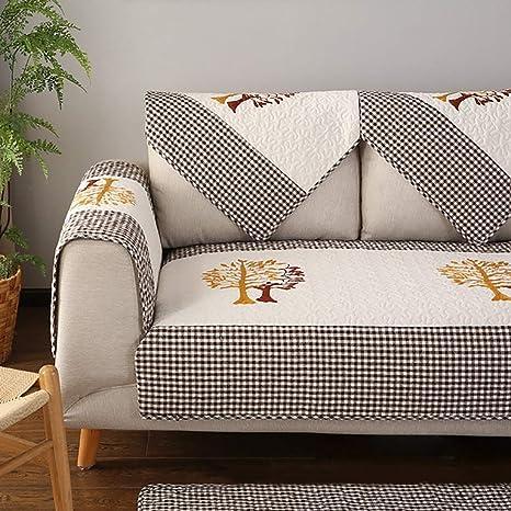 YLCJ Solid Sofa Peninsula Sofa Cover Lavable Funda para sofá ...