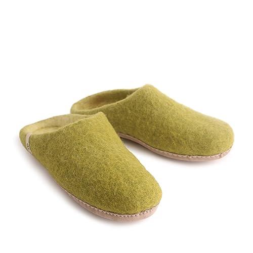 Verde Caviglia Donna Pantofole lime Sulla Egos Simple Aperte ICUqxYw