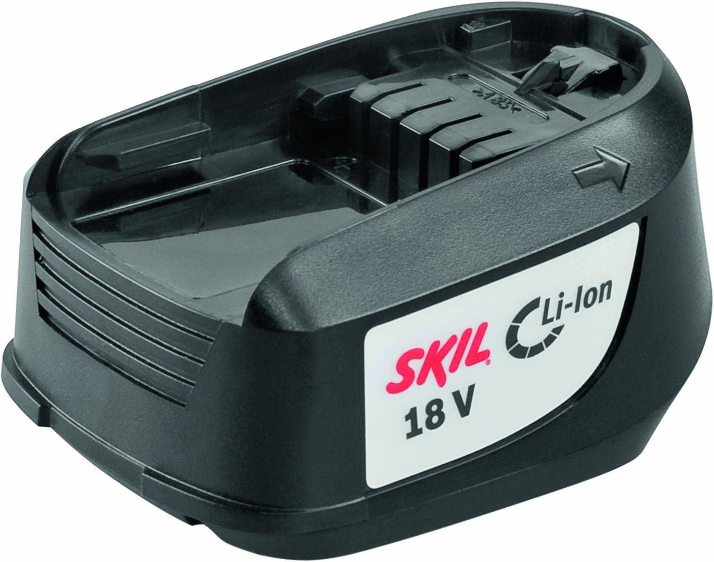 18V Li-Ion, 1,3 Ah, 40 Nm, 2 Gang + Schlagbohrfunktion Skil Akku-Schlagbohrschrauber 2532 AA