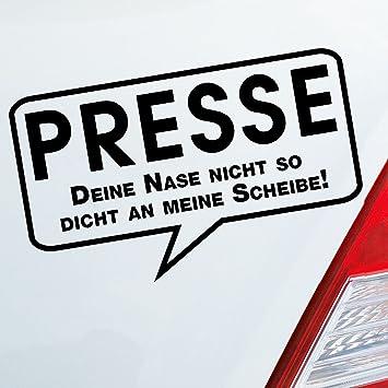 Dub oem sticker press seal over nose fun funny car sticker jdm