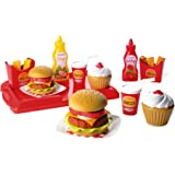Ecoiffier - 2623 - Jeu D'Imitation - Cuisine - Set Hamburger