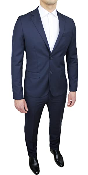 Sartoriale - Traje completo de hombre color azul slim fit ...