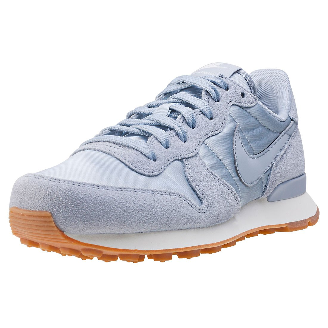 Nike Wmns Internationalist, Zapatillas de Gimnasia para Mujer 38 EU Wolf Grey/Sail