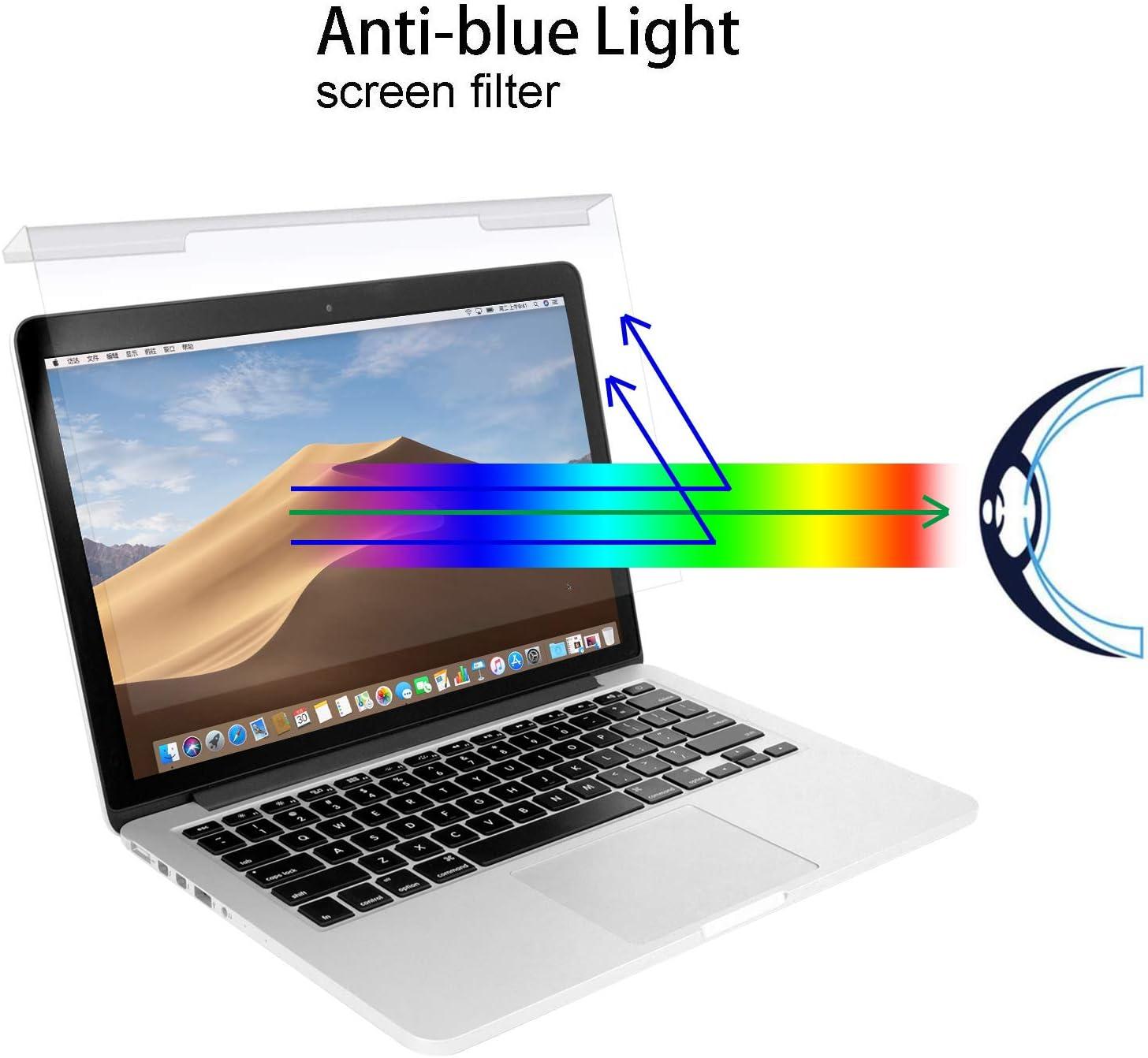 Monitor Anti-Scratch BOZABOZA Anti-Glare LCD Notebook MacBook Pro Anti-Blue Ray Privacy Screen Filter Matte or Gloss Privacy Protector for Laptop Display 254 x 145 11