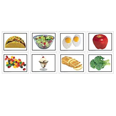 Carson Dellosa Key Education Nouns: Food Learning Cards (845004): Office Products
