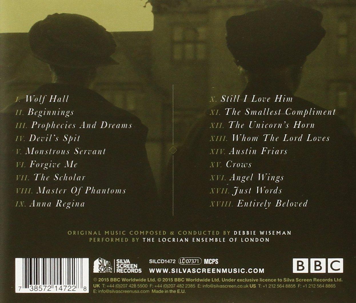 Wolf Hall - Original TV Soundtrack: Amazon co uk: Music