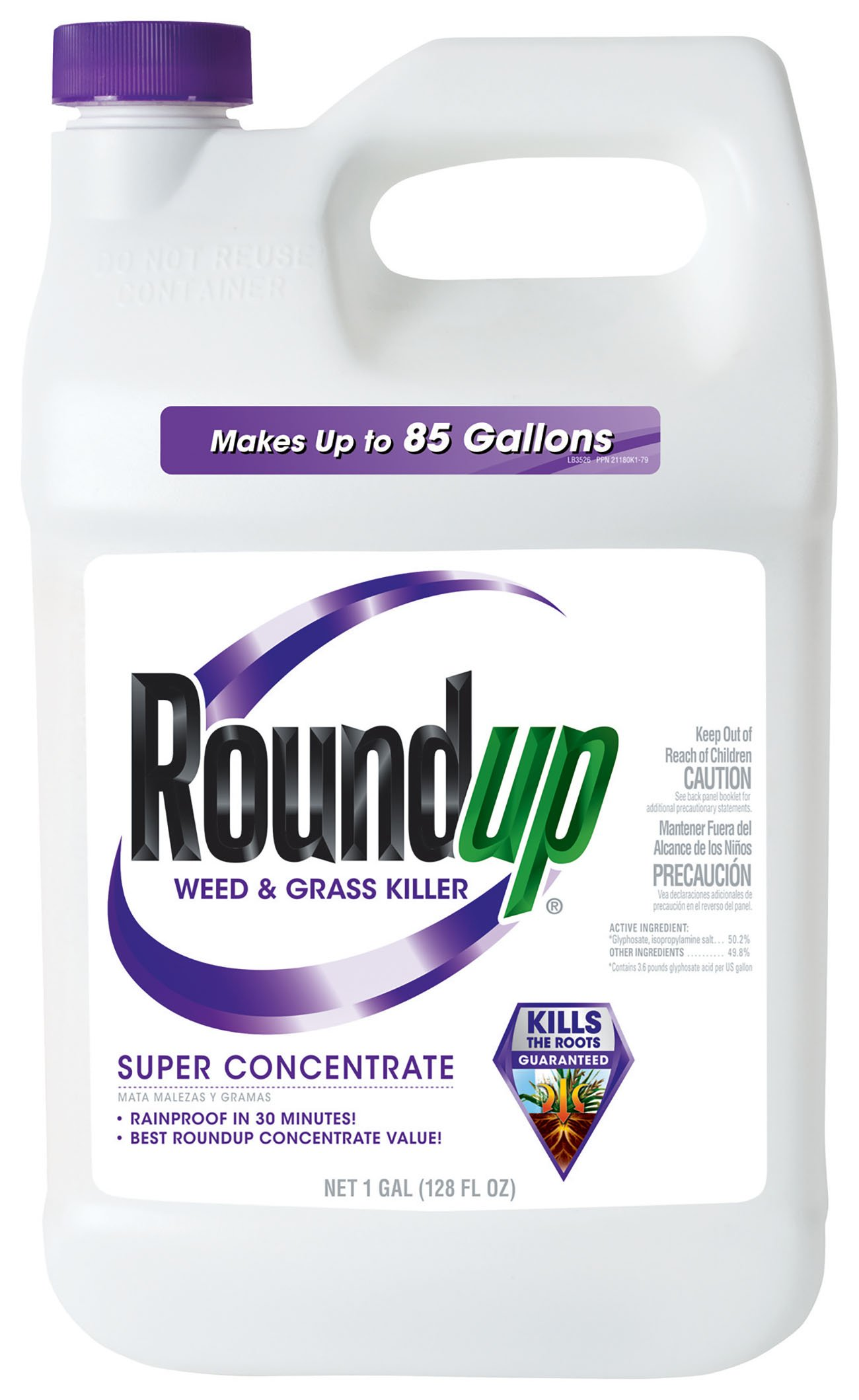 Roundup Weed and Grass Killer Super Concentrate, 1-Gallon by Roundup