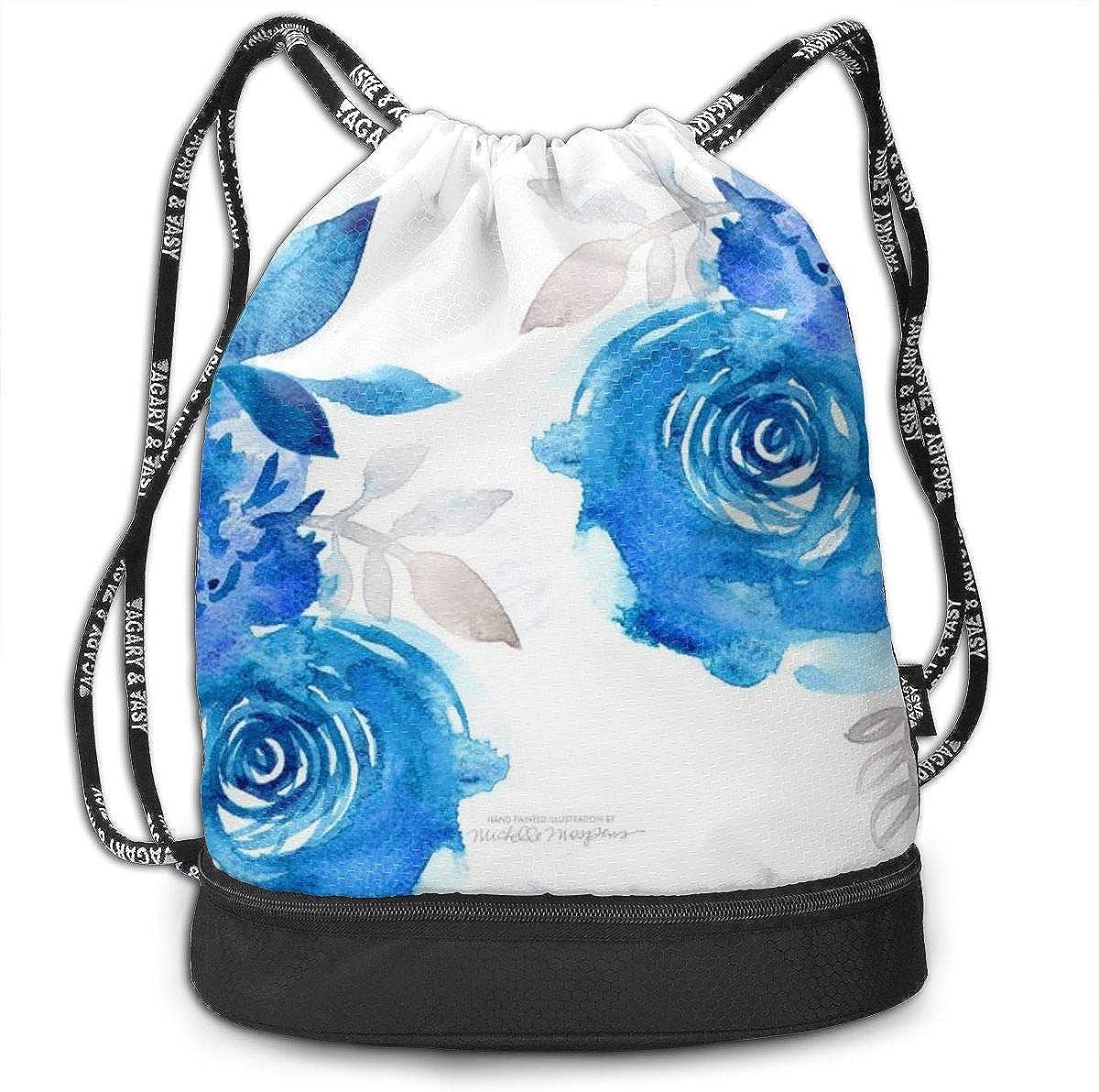 Cute Magic Cube Art Drawstring Bag For Girls /& Boys Gym Yoga Runner Sports Daypack Portable Bundle Backpack