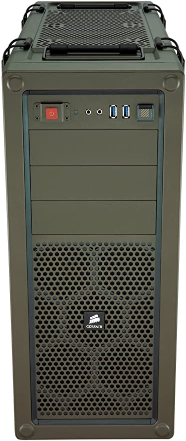 Corsair Vengeance C70 - Caja de PC, Mid-Tower ATX, Ventana Lateral, Verde: Amazon.es: Informática