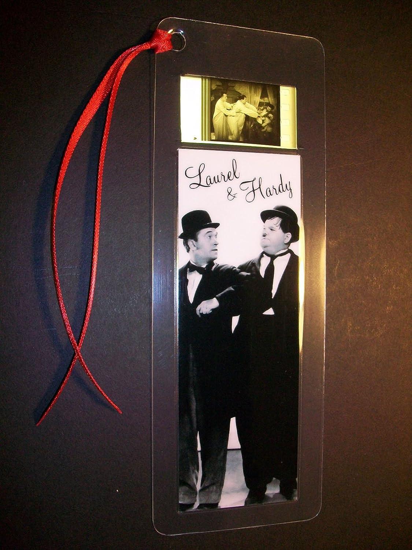 www.filmcellsdirect.com Laurel /& Hardy Rare Movie Memorabilia Film Cell marcap/áginas