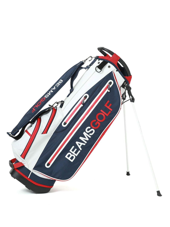 (ビームスゴルフ)BEAMS GOLF/キャディバッグ/スタンド キャディバッグ 4 ユニセックス One Size ホワイト B07H8ST119