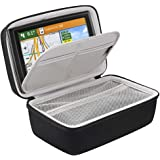 BOVKE Hard GPS Case for 6 - 7 Inch Garmin DriveSmart 65 / 61 LMT-S, Nuvi 2797LMT GPS Navigator System, Extra Space fits Car C