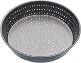 KitchenCraft  MasterClass Crusty Bake Non-stick Pie Pan/Tart Tin, Grey, 23 cm