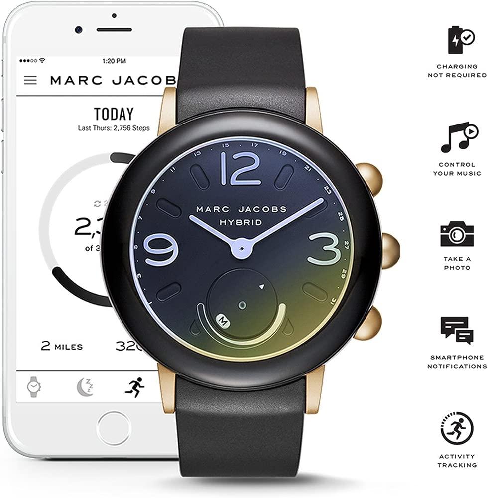 Womens Riley Hybrid Smartwatch on Sport Silicone Strap
