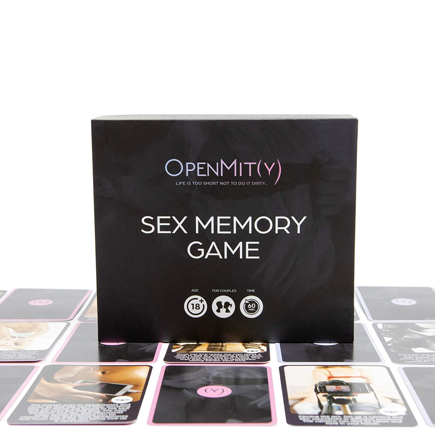 Sex Game for Couples - Naughty Sex Memory Board Game for Adults with Erotic Pictures. Couple Game Cards can Also be Used as Sex Coupons and as Foreplay Game. by OpenMity