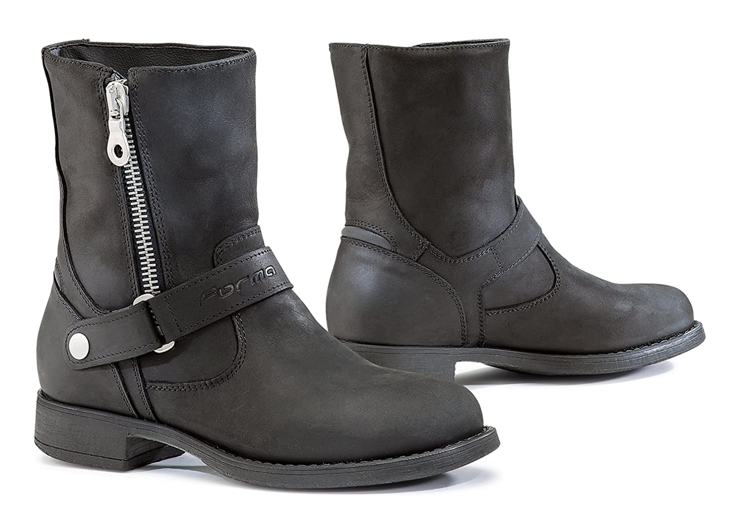 FORMA Motorcycle Women Boots Eva WP CE Approved, Black, 38 Forma Boots FORMABOOTS FWEVABK38