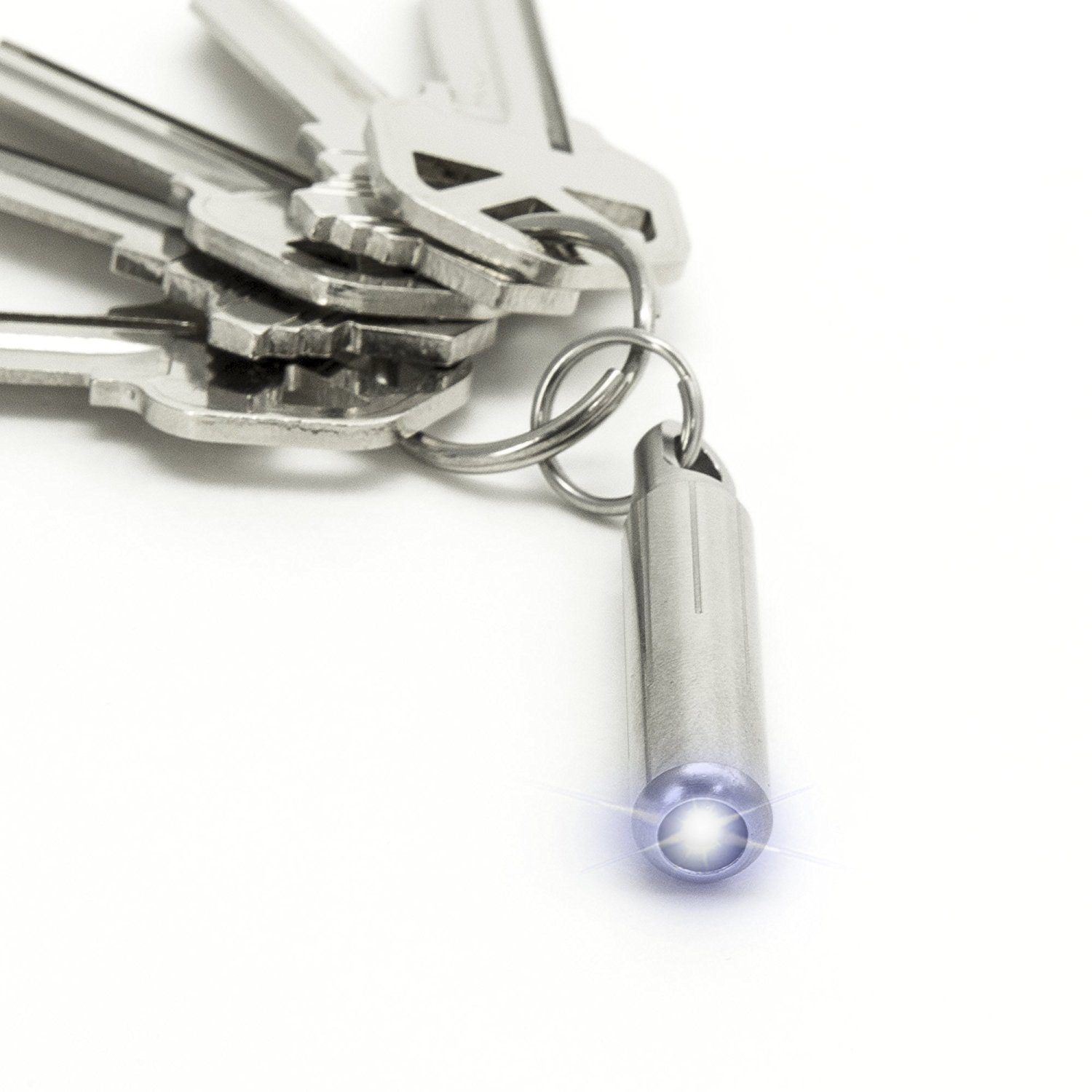 Nano Torch By KeySmart | World's Smallest and Brightest Flashlight for Your Keychain CurvGroup