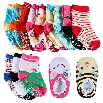 Unisex Baby Kids Toddler Girl Boy Soft Net Socks 10 Colors Size 0-3years