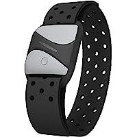 smartLAB hrm A hartslagmeter op de arm, zwart, met Bluetooth en ANT+, compatibel met Garmin Wahoo Polar Runtastic Pro