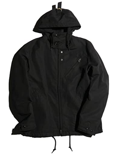 Genuin Garment Deck Parka 3225-186-2234: Black