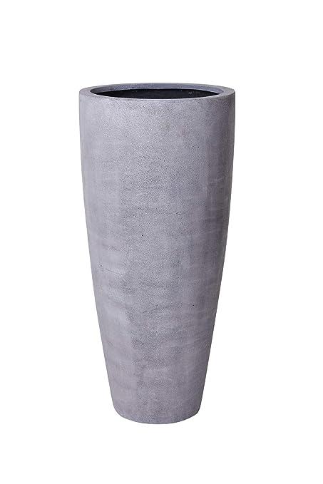 Pflanzkübel 120 Cm Hoch.Pflanzkübel Pflanzgefäß Blumenkübel Fiberglas Beton Design