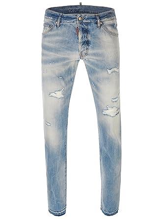 DSquared - Vaquero - Pantalones - para hombre azul azul ...