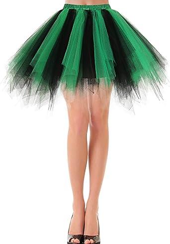 Bbonlinedress Faldas Tul Mujer Enaguas Cortas Tutus Ballet Mini ...