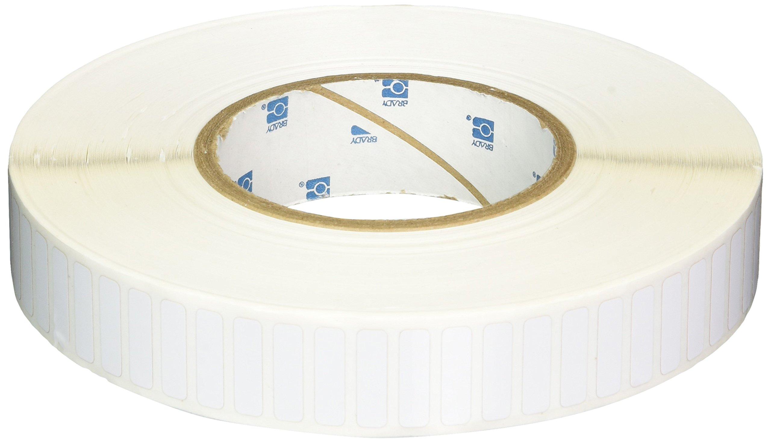 Brady THT-49-727-10 Thermal Transfer Printer Label, White