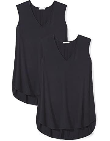 79712fea098757 Daily Ritual Women s Plus Size Jersey V-Neck Tank Top