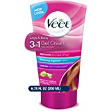Hair Removal Cream – VEET Legs & Body 3 in 1 Gel Cream Hair Remover, Sensitive Formula with Aloe Vera and Vitamin E, 6…