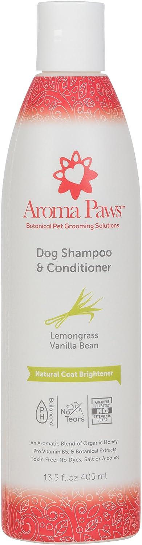 Aroma Paws Lemongrass Vanilla Bean Shampoo, 13.5 oz
