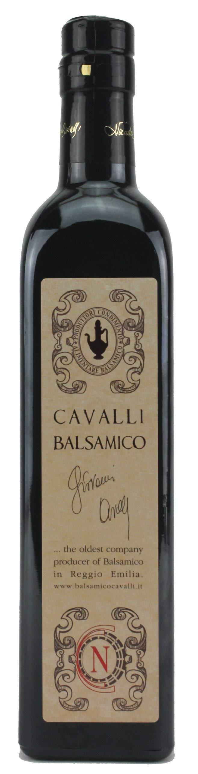Cavalli Balsamic Condimento Balsamic Vinegar, 500ml (16.9oz) by Cavalli