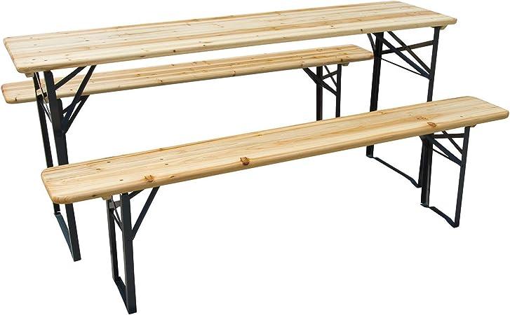 Bierzeltgarnitur Biertischgarnitur Quattro kreuzförmig Stehtisch Biertisch Tisch