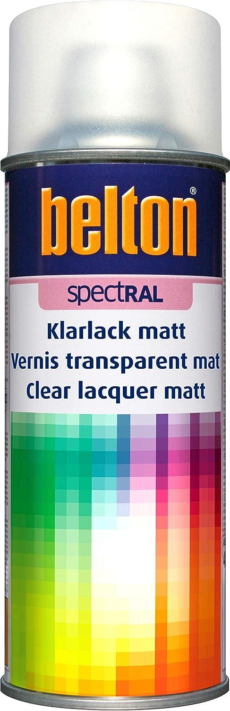 Belton Spectral Lackspray Nc Klarlack Farblos Matt 400 Ml Profi Qualität Baumarkt