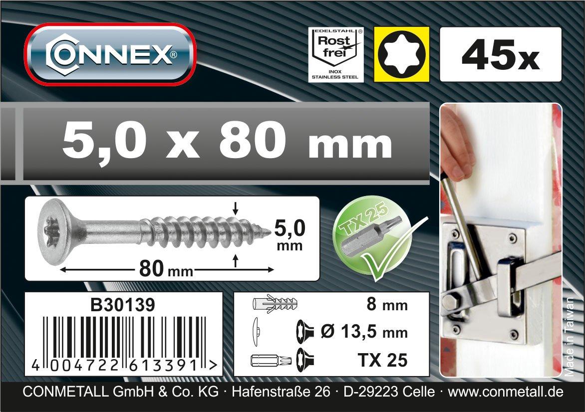 Connex B30140 TX A2 6 x 100mm Uni-Screws Bucket by
