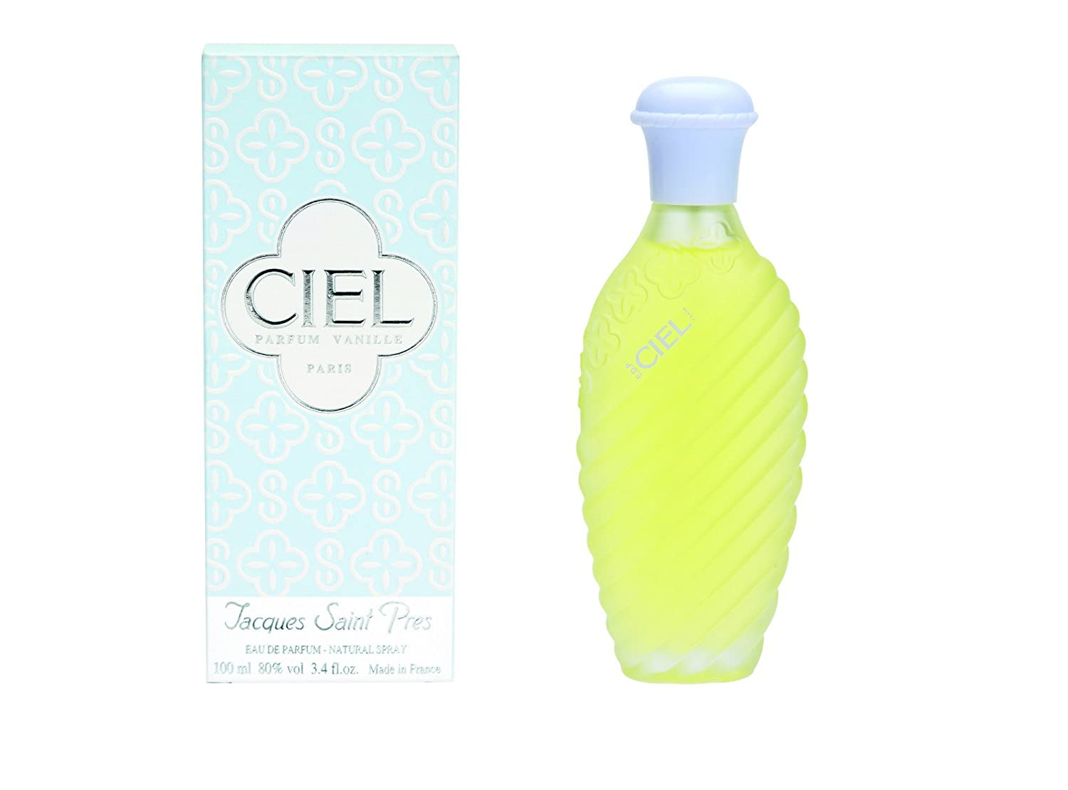 Amazon.com : Ciel By Jacques Saint Pres For Women Eau De Parfum Spray, 3.4-Ounces : Colonia Ciel : Beauty