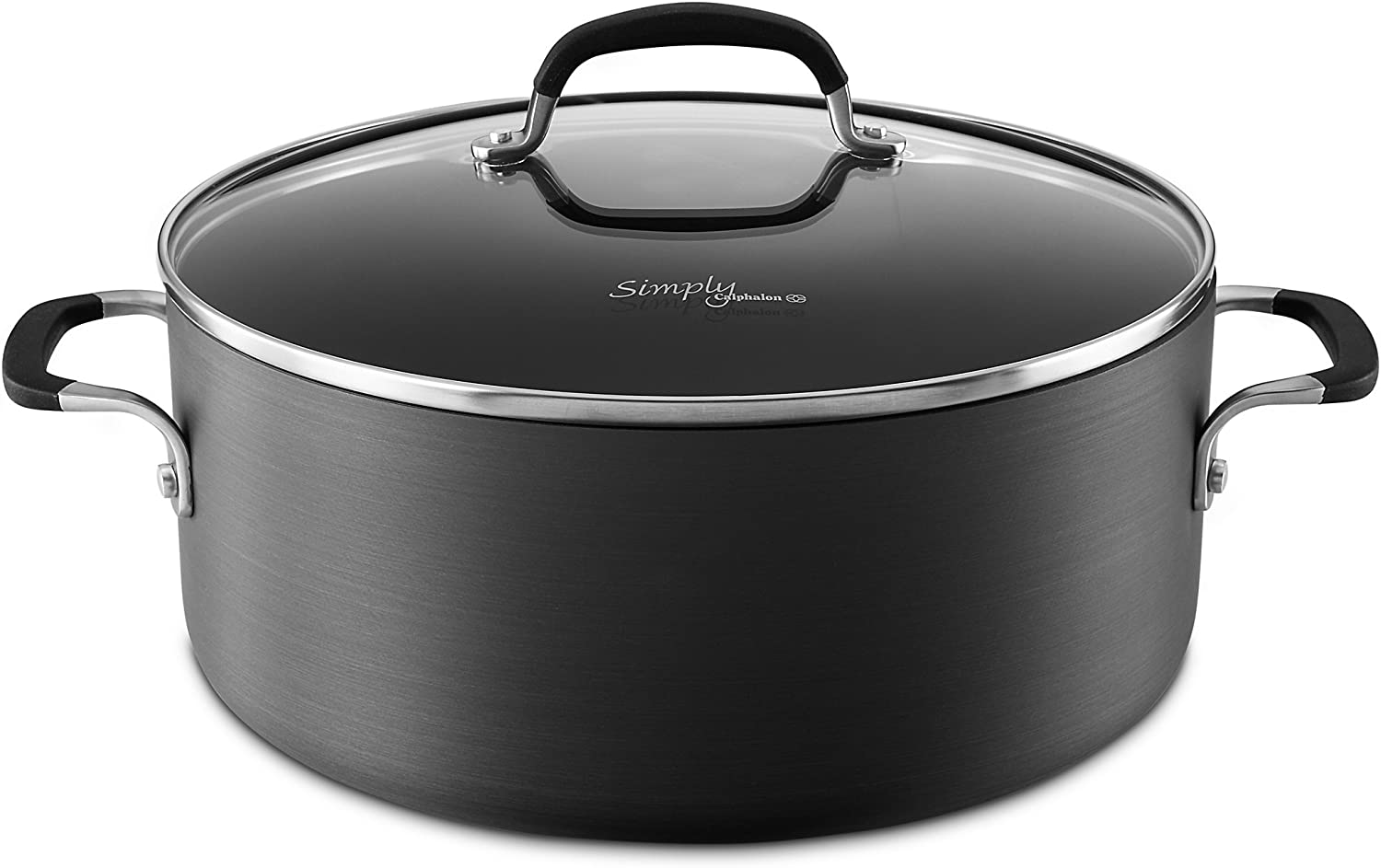 Simply Calphalon Nonstick 7-qt. Dutch Oven & Cover