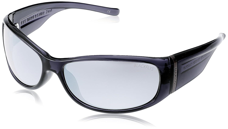 (ブラックフライズ)Black Flys FLY DIMENSION 2nd 偏光レンズ BF-1029 [メンズ] 日本 FREE-(FREE サイズ) CLEAR BLACK / SMOKE POL  SILVER MIRROR B01CZCTBLY