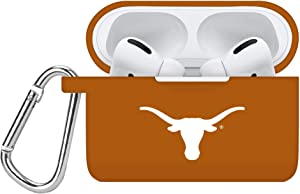 AFFINITY BANDS Texas Longhorns Silicone Case Cover Compatible with Apple AirPods PRO Battery Case - Burnt Orange