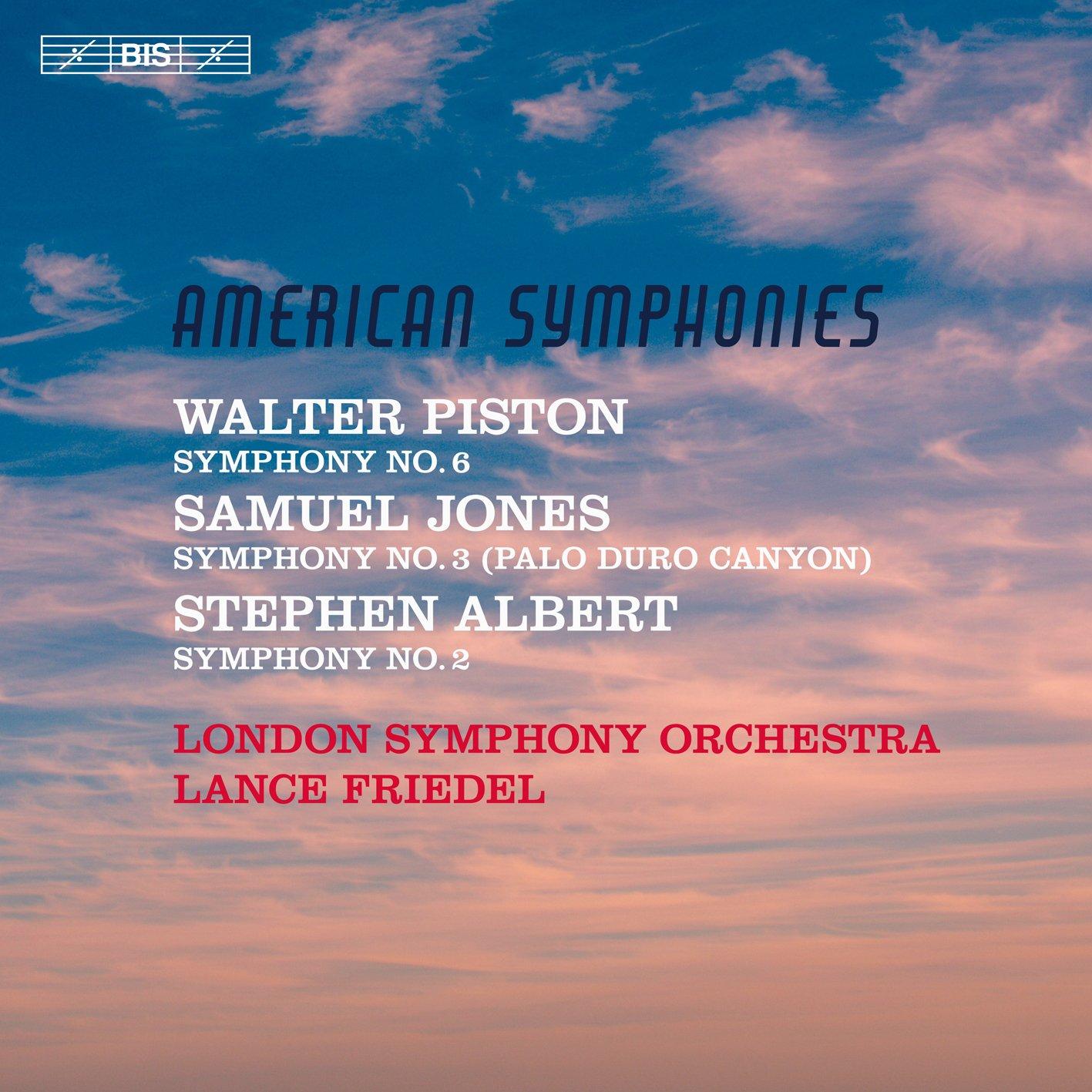 SACD : Albert - American Symphonies (Hybrid SACD)