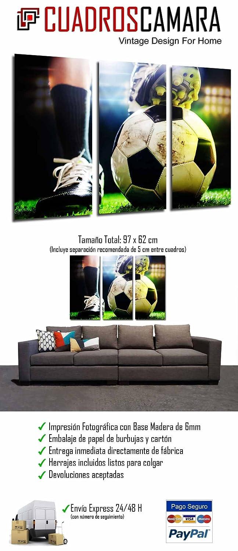 Cuadro Moderno Fotografico Motivacion Deporte Futbol ad9a842ba07a7