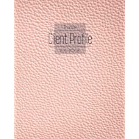 Client Profile Log Book Tracker: Perfect Book track organizer for Record Data Client list to keep Customer information…