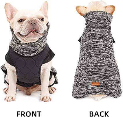 Dog/'s Hoodie Jacket Chihuahua French Bulldog Pugs Puppy Outfit Coat Clothing