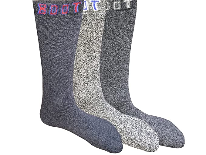 Hombre de senderismo Trekking Calcetines, calcetines térmicos caminar botas de trabajo 6 - 11 - 3 Pares 6 pares 12 pares: Amazon.es: Ropa y accesorios