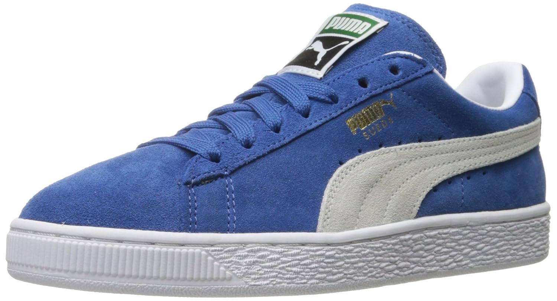 PUMA Women's Suede Classic Sneaker B01C00RP0A 7 M US|Olympian Blue/White