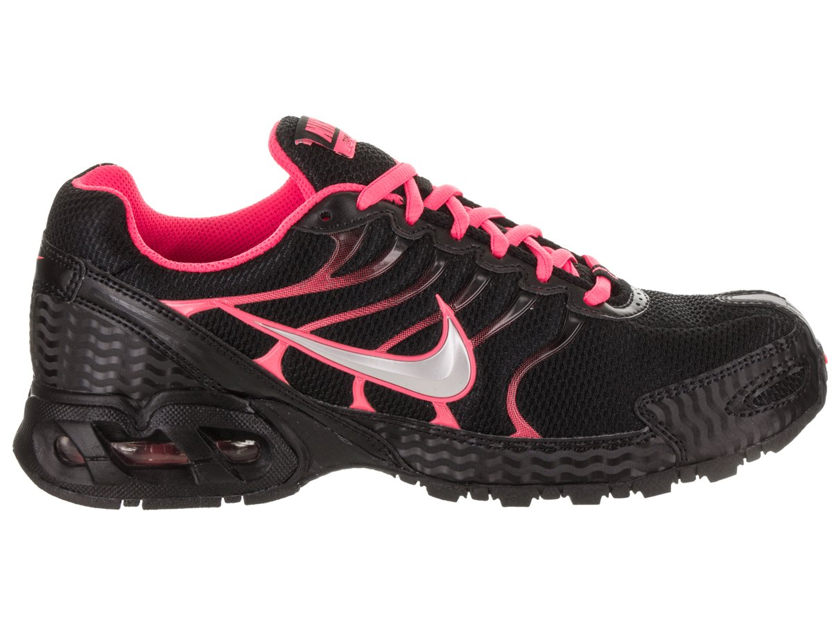 Amazon.com: Nike Womens Air Max Torch 4 Running Shoes Black/Silver/Pink Flash 9.5: Sports & Outdoors