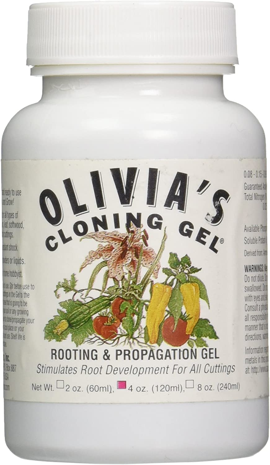 Olivia s Solution OCG4 4-Ounce Olivia s Cloning Gel for Plants