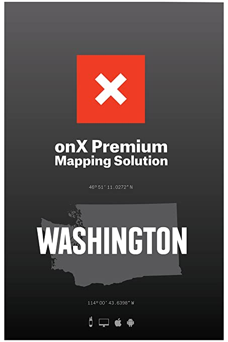 Amazon.com: onxmaps Hunt Washington chip para GPS Propiedad ...